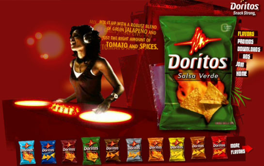 Doritos Interactive Web Media
