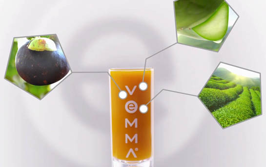 Vemma nutritional drink TVC Table Top Commerial Creative Director video demo reel
