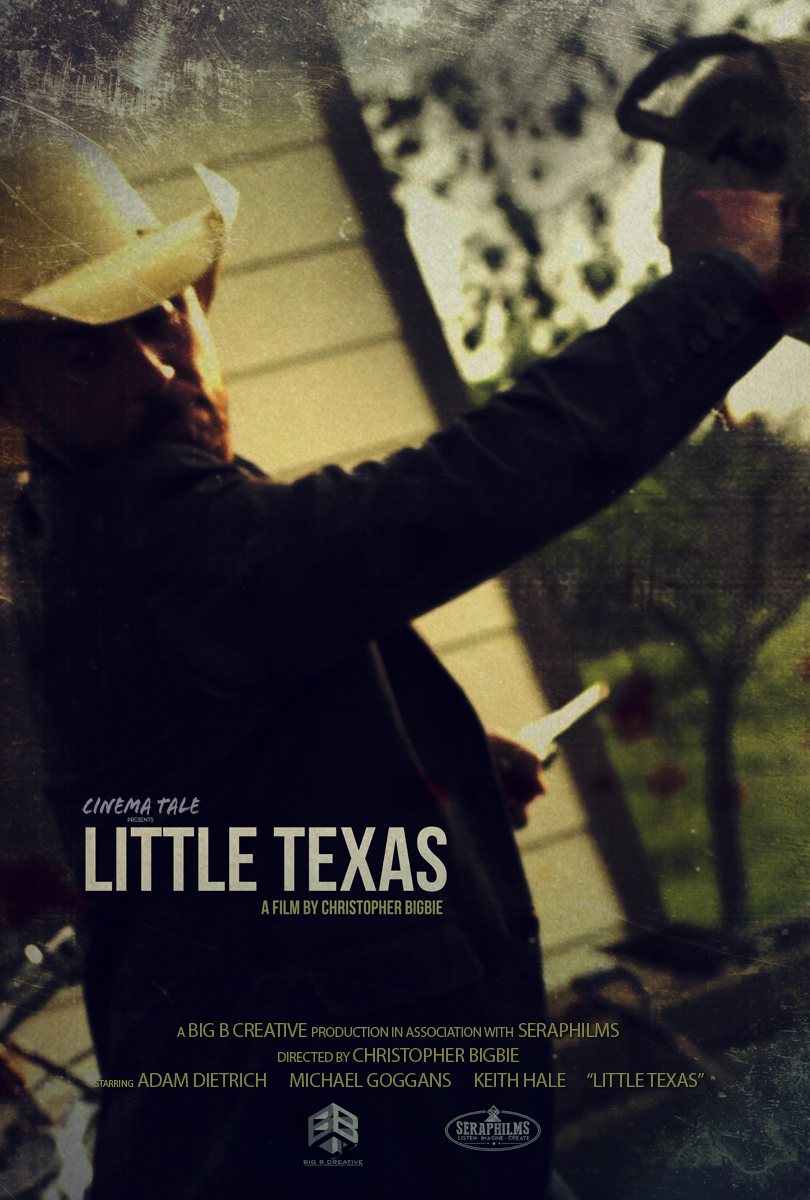 Poster Little Texas independent short film by Christopher Bigbie